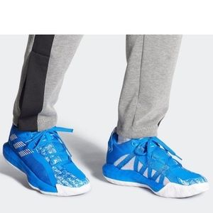 Adidas Dame 6 Sneakers Glory Blue *NIB* 10.5